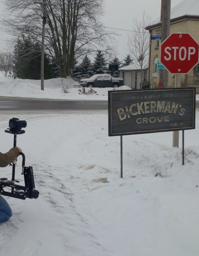 Welcome to our Bickerman's Grove sign!