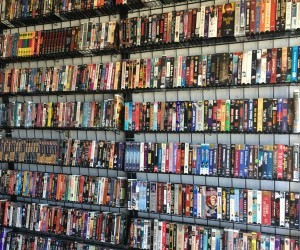 First Frames First 41: The Great Wall of VHS Tapes is Visible from Space!